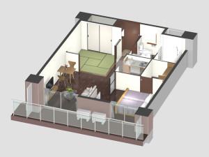 夫婦部屋イメージ